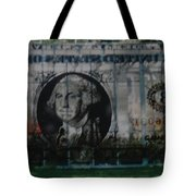 Dollar Bill Tote Bag