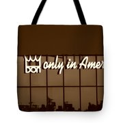 Don King Only In America Tote Bag