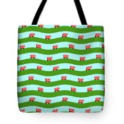 Double Decker Bus Tote Bag