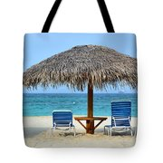Cayman Down Time Tote Bag