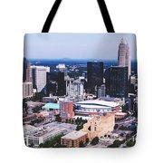 Downtown Charlotte Tote Bag