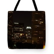 Downtown L.a. In Hdr Tote Bag