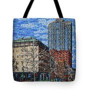 Downtown Raleigh - Fayetteville Street Tote Bag