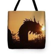 Dragon At Dawn Tote Bag