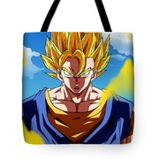 Dragon Ball Z Tote Bag