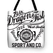Dragon Fist 1986 Tote Bag