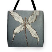 Dragonfly Tote Bag by Ginny Youngblood