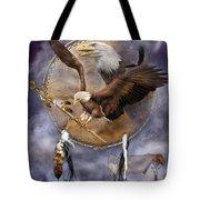 Dream Catcher - Spirit Eagle 2 Tote Bag