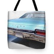 Sky Blue Skylark Tote Bag