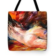 Dreams - Palette Knife Oil Painting On Canvas By Leonid Afremov Tote Bag
