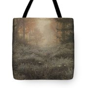 Drenched Furze Tote Bag