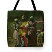 Dressing For The Carnival Tote Bag
