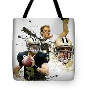 Drew Brees Saints Tote Bag