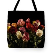 Dried Roses Tote Bag