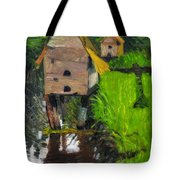 Duck Houses Tote Bag