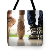 Duet Tote Bag by Laura Fasulo