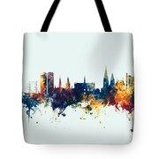 Dundee Scotland Skyline Tote Bag