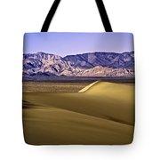 Dunes And Mountains Three Tote Bag