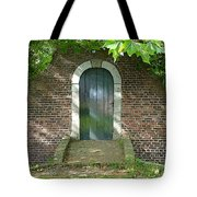 Dutch Door Digital Tote Bag by Carol Groenen