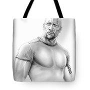 Dwayne Johnson Tote Bag
