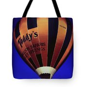 Early Morning Balloon Ride Tote Bag