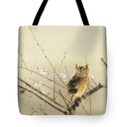 Early Plum Blossoms Tote Bag