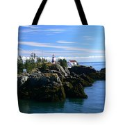 East Quoddy Lighthouse Tote Bag