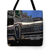 Edsel On Route 66 Tote Bag