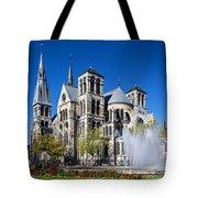 Eglise Notre - Dame En Vaux Tote Bag