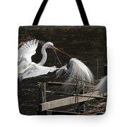 Egret 43 Tote Bag