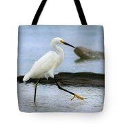 Egret Step Tote Bag