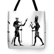 Egyptian Gods Tote Bag