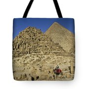 Egypt's Pyramids Of Giza Tote Bag