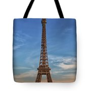 Eiffel Tower In France Tote Bag