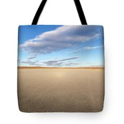 El Mirage Dry Lake Mojave  Tote Bag