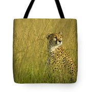 Elegant Cheetah Tote Bag
