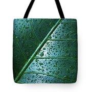 Elephant Ear Leaf Tote Bag