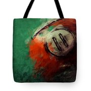Eleven Ball Billiards Abstract Tote Bag