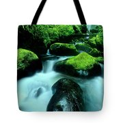 Elowah Falls Columbia River Gorge National Scenic Area Oregon Tote Bag