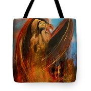 Embrace Of The Phoienix Tote Bag
