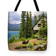 Emerald Lake Yoho National Park Tote Bag