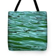 Emerald Sea Tote Bag
