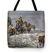 Emigrants, 1874 Tote Bag by Granger
