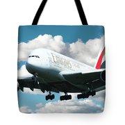 Emirates A380 Tote Bag