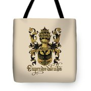 Emperor Of Germany Coat Of Arms - Livro Do Armeiro-mor Tote Bag by Serge Averbukh