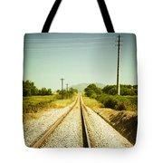 Empty Railway Tote Bag