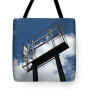 Empty Sign Frame Tote Bag