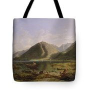 End Of Lake Geneva Tote Bag
