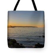 English Bay Sunset Tote Bag