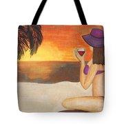 Enjoy The Beach Tote Bag